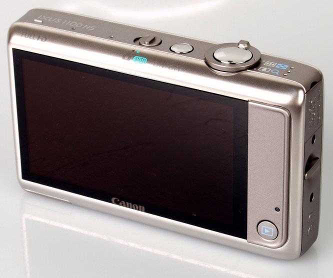 Canon IXUS 1100 HS Rear