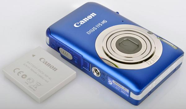 Canon IXUS 115 HS battery