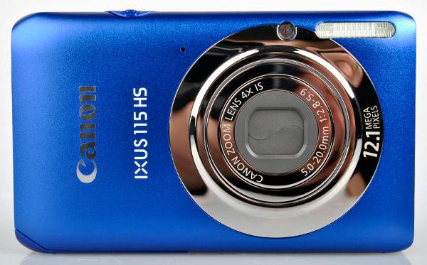 Canon IXUS 115 HS front