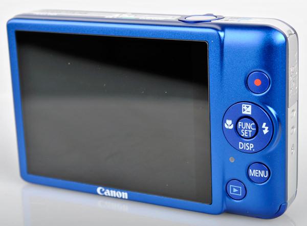 Canon IXUS 115 HS rear