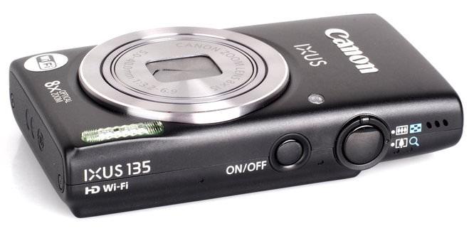 Canon Ixus 135 Black (1)