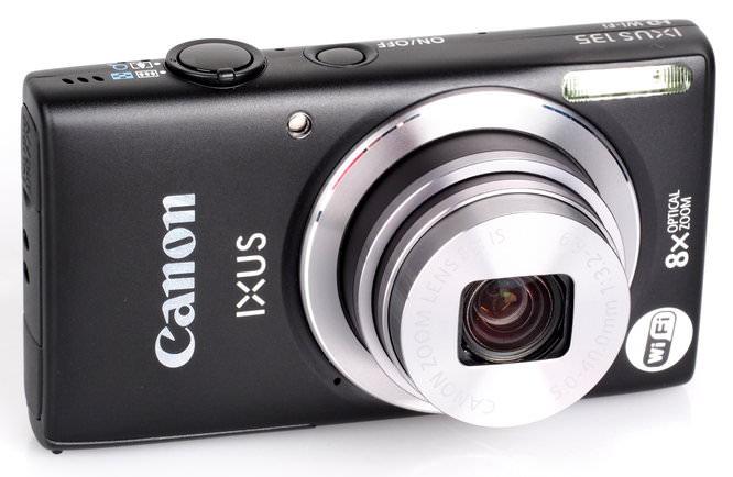 Canon Ixus 135 Black (5)