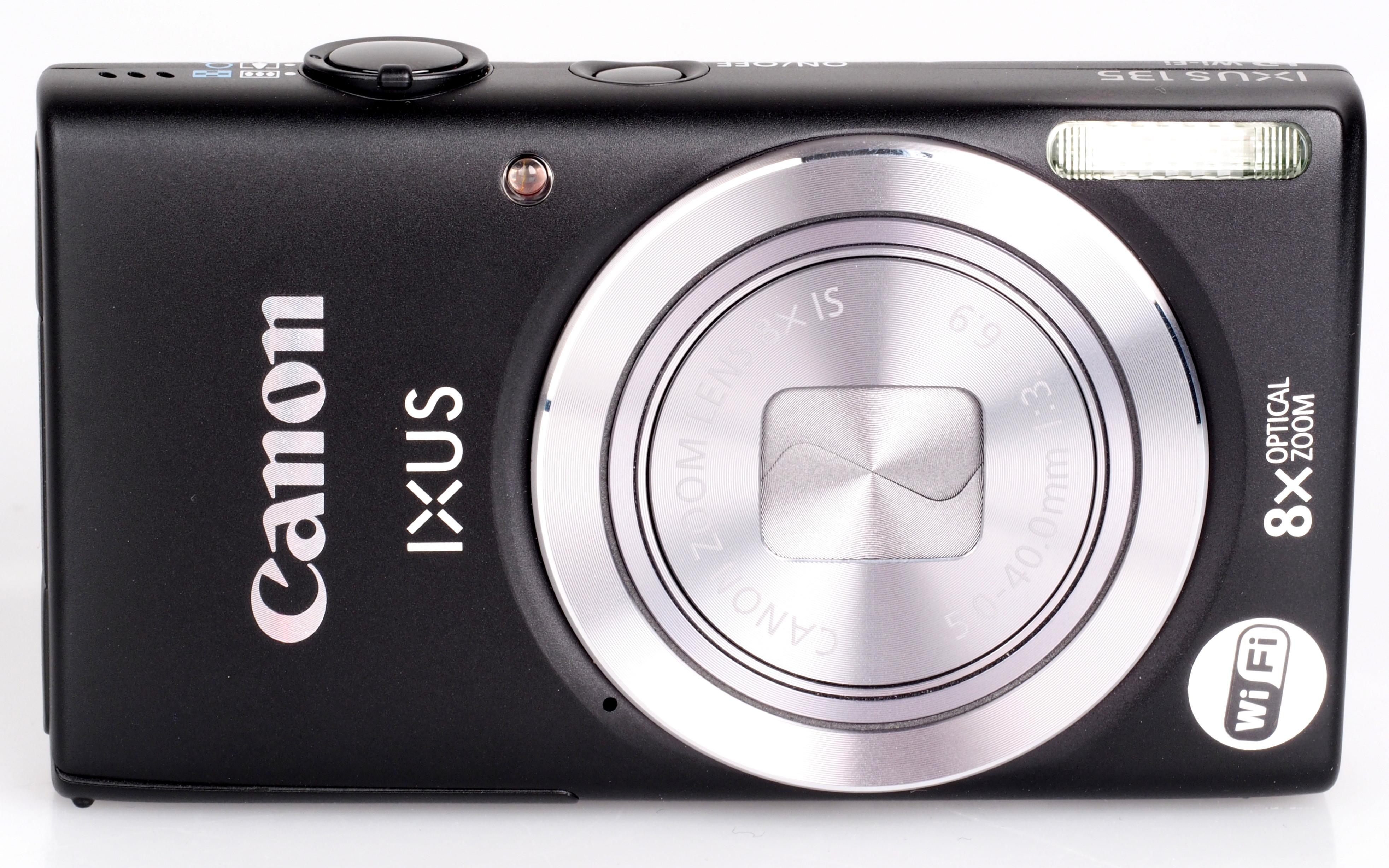 Canon Ixus 135 Black 4