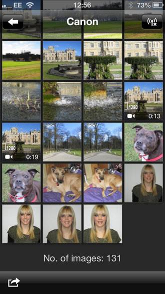 Canon Ixus 140 App Screenshot 2