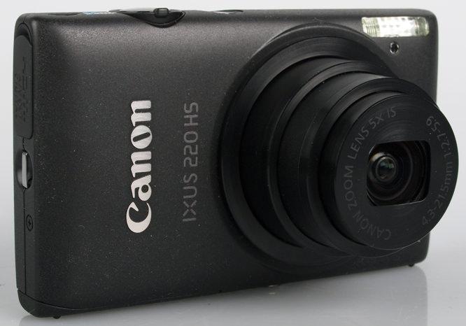Canon IXUS 220 HS front lens