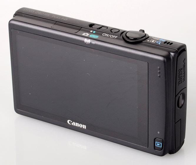 Canon Ixus 240 Hs Screen