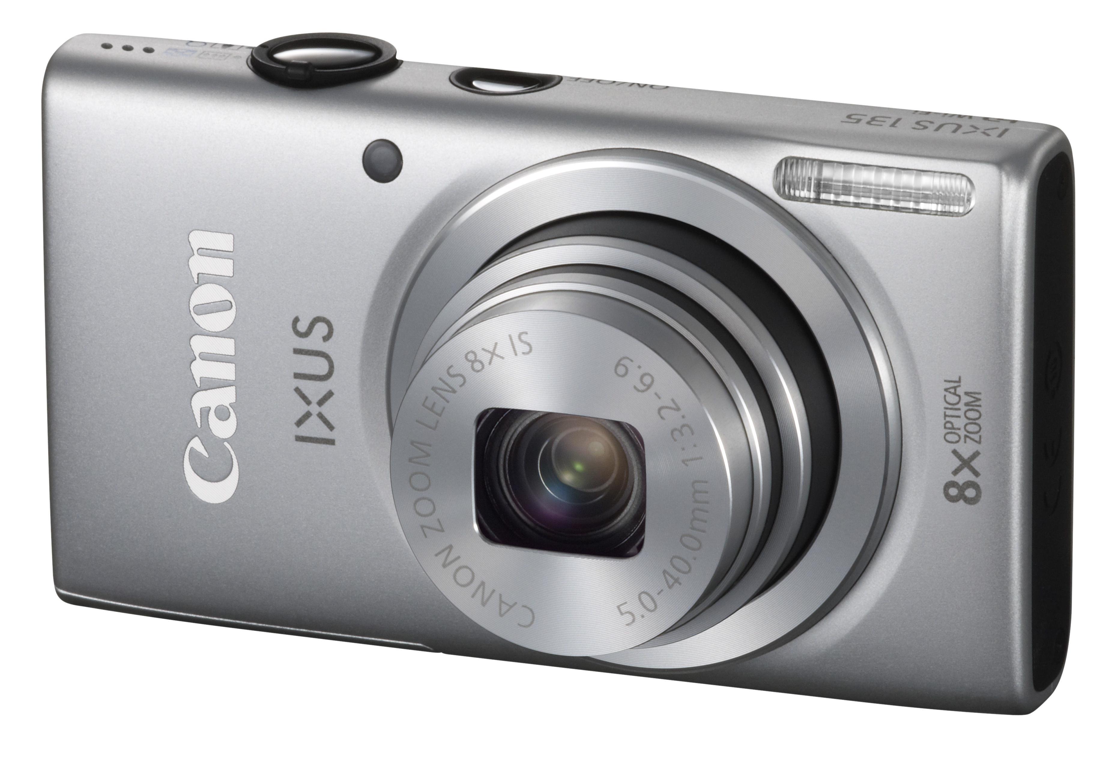 Canon IXUS 255 HS, IXUS 135, IXUS 132 And PowerShot A2500.