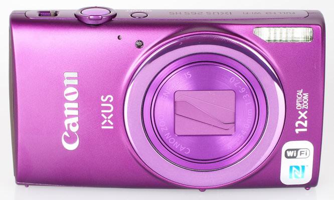 Canon IXUS 265 HS Purple (2)
