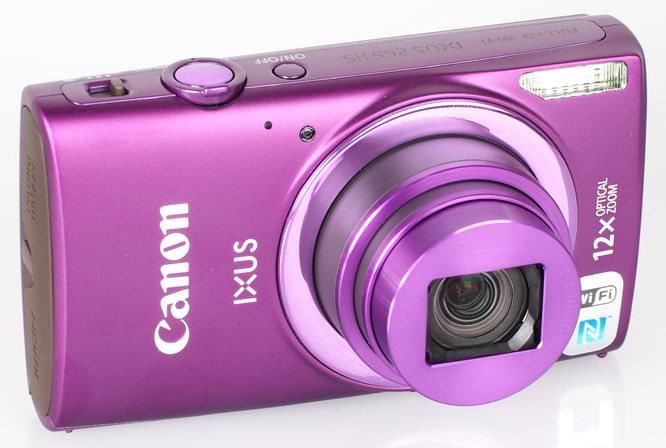 Canon IXUS 265 HS Purple (3)