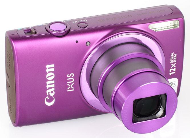 Canon IXUS 265 HS Purple (4)