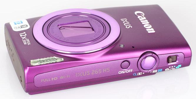 Canon IXUS 265 HS Purple (5)