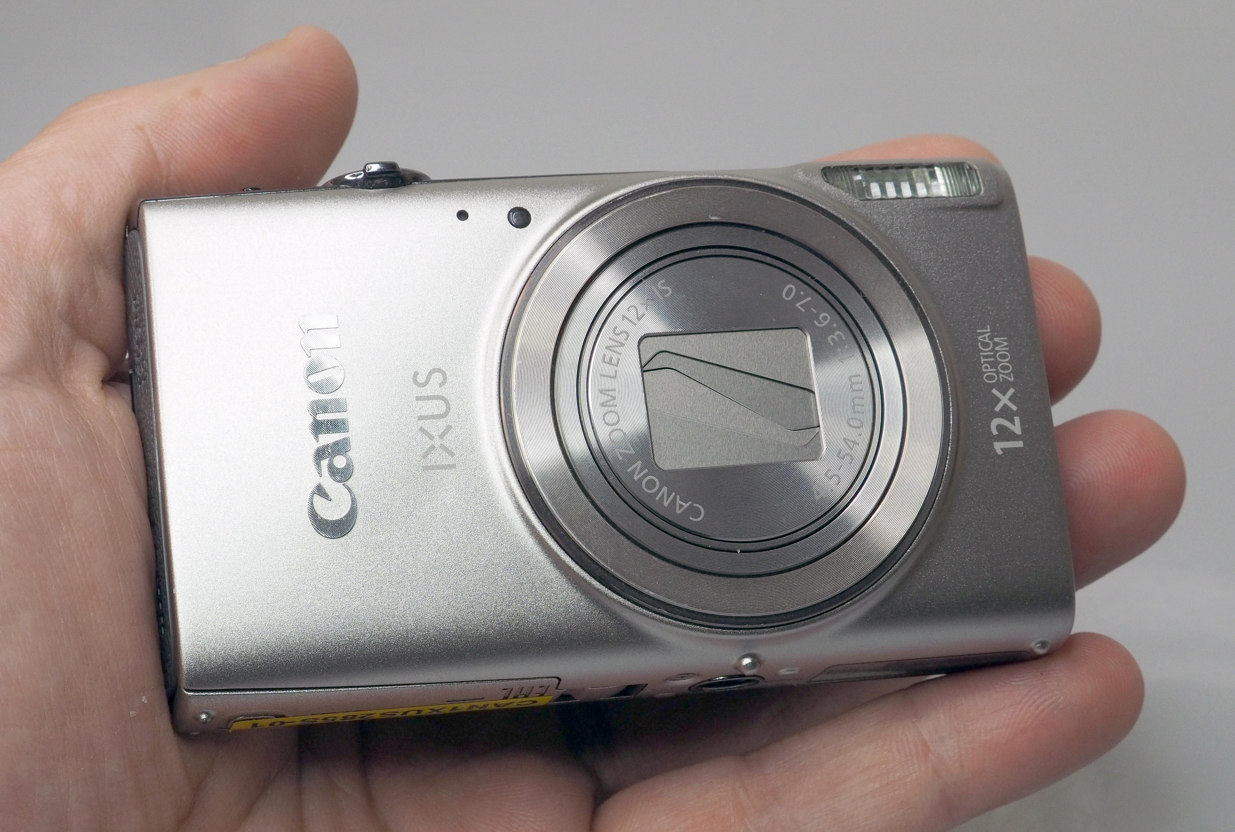 Canon IXUS 285 HS Silver (1)