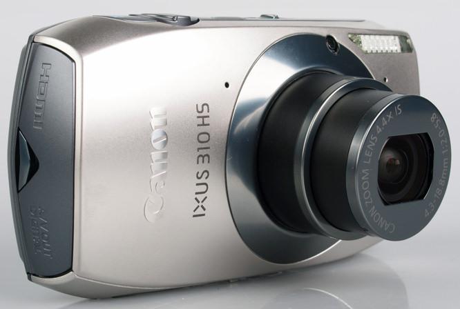 Canon IXUS 310 HS front lens