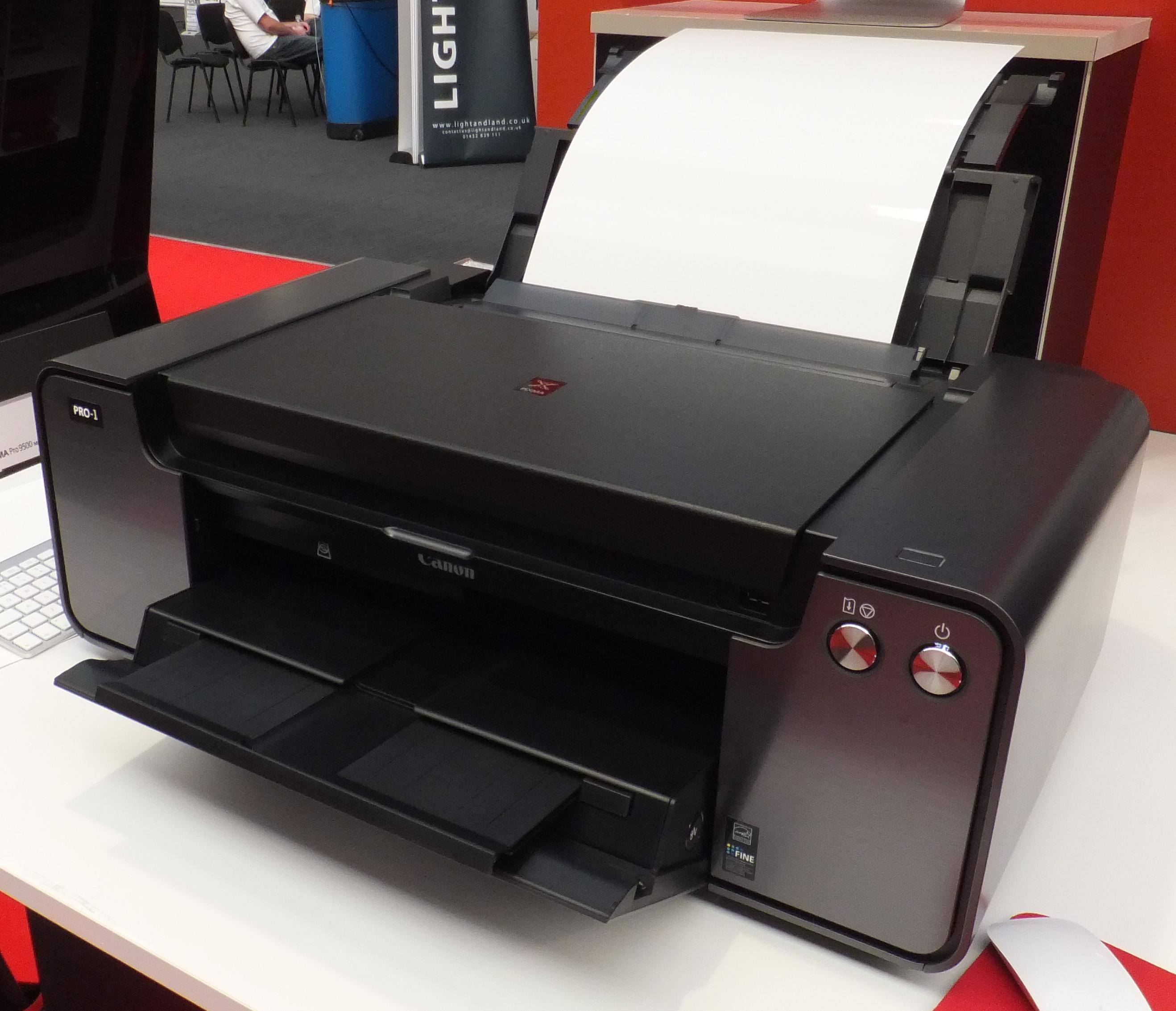 Canon PIXMA Pro-1 A3+ Printer Hands-On