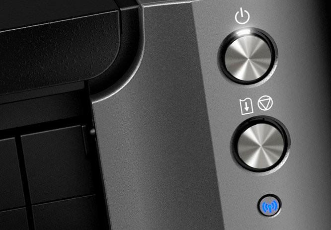Canon Pixma Pro 10 Buttons