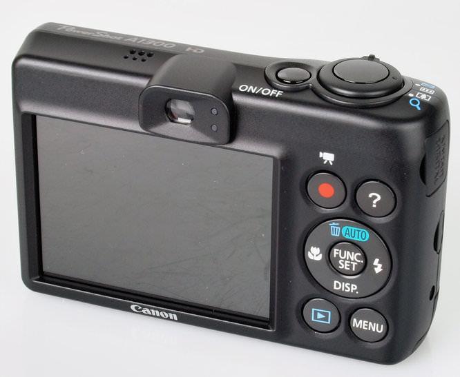 Canon Powershot A1300 Rear