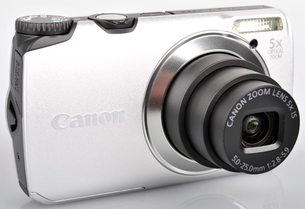 Canon PowerShot A3300 IS front lens