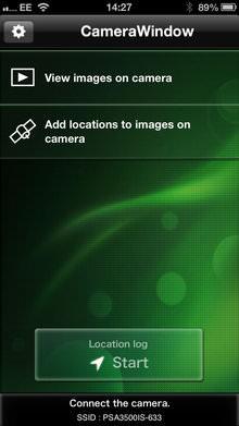 Canon Powershot A3500 Is App Screenshot 1