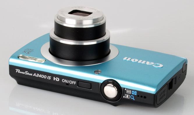 Canon Powershot A2400 Top