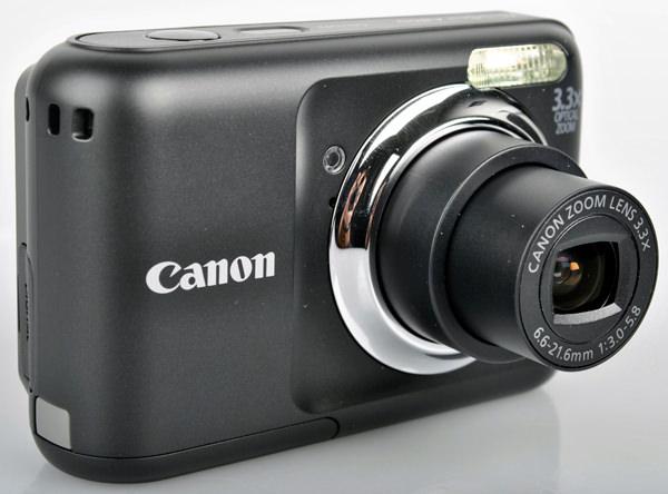 Canon Powershot A800 front lens