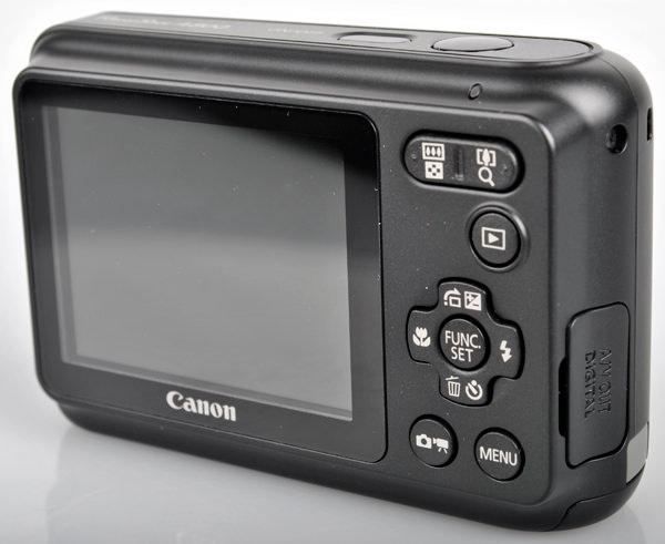 Canon Powershot A800 rear