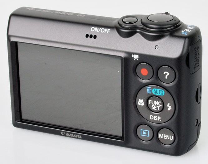Canon Powershot A810 Screen