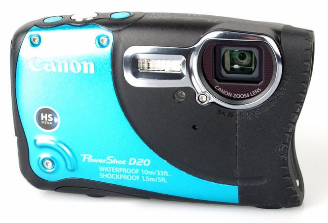 Canon Powershot D20 Front 1