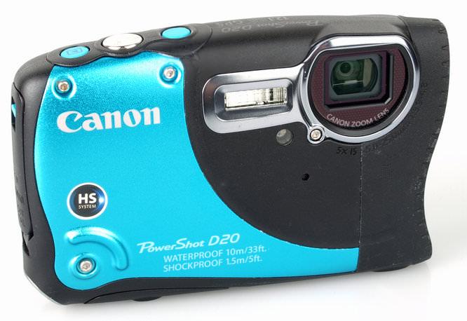 Canon Powershot D20 Front 2