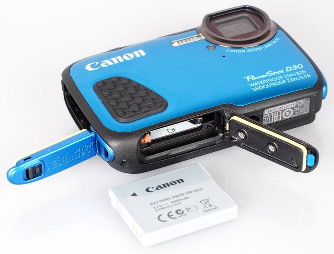 Canon Powershot D30 Blue (1)