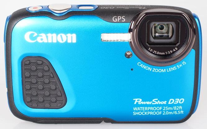 Canon Powershot D30 Blue (2)