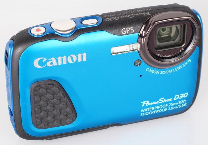 Canon Powershot D30 Blue (3)
