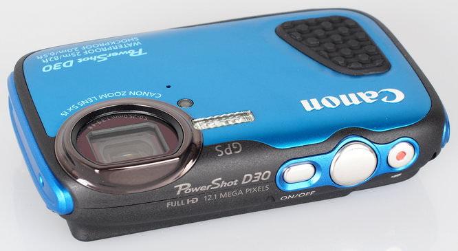 Canon Powershot D30 Blue (4)