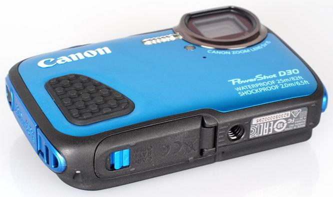 Canon Powershot D30 Blue (5)
