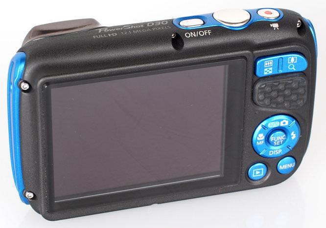 Canon Powershot D30 Blue (6)
