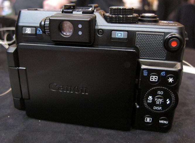 Canon Powershot G1 X Back