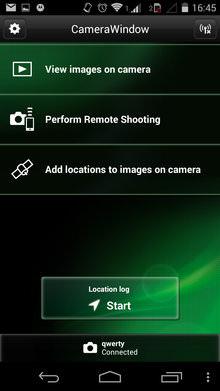 Canon Camera Window
