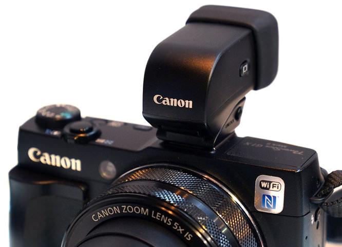 Canon Powershot G1x MarkII EVF 1