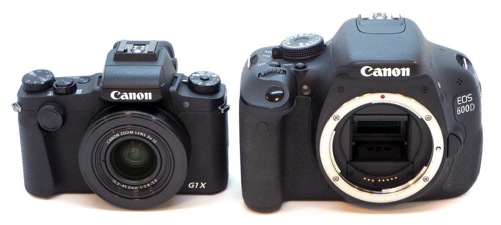 Canon Powershot G1x Iii Vs Canon Eod 600d