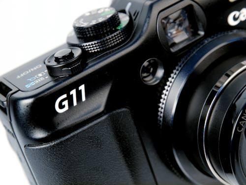 Canon Powershot G11 badge