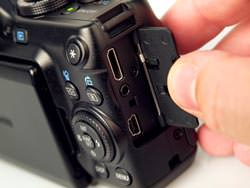 Canon Powershot G11 ports