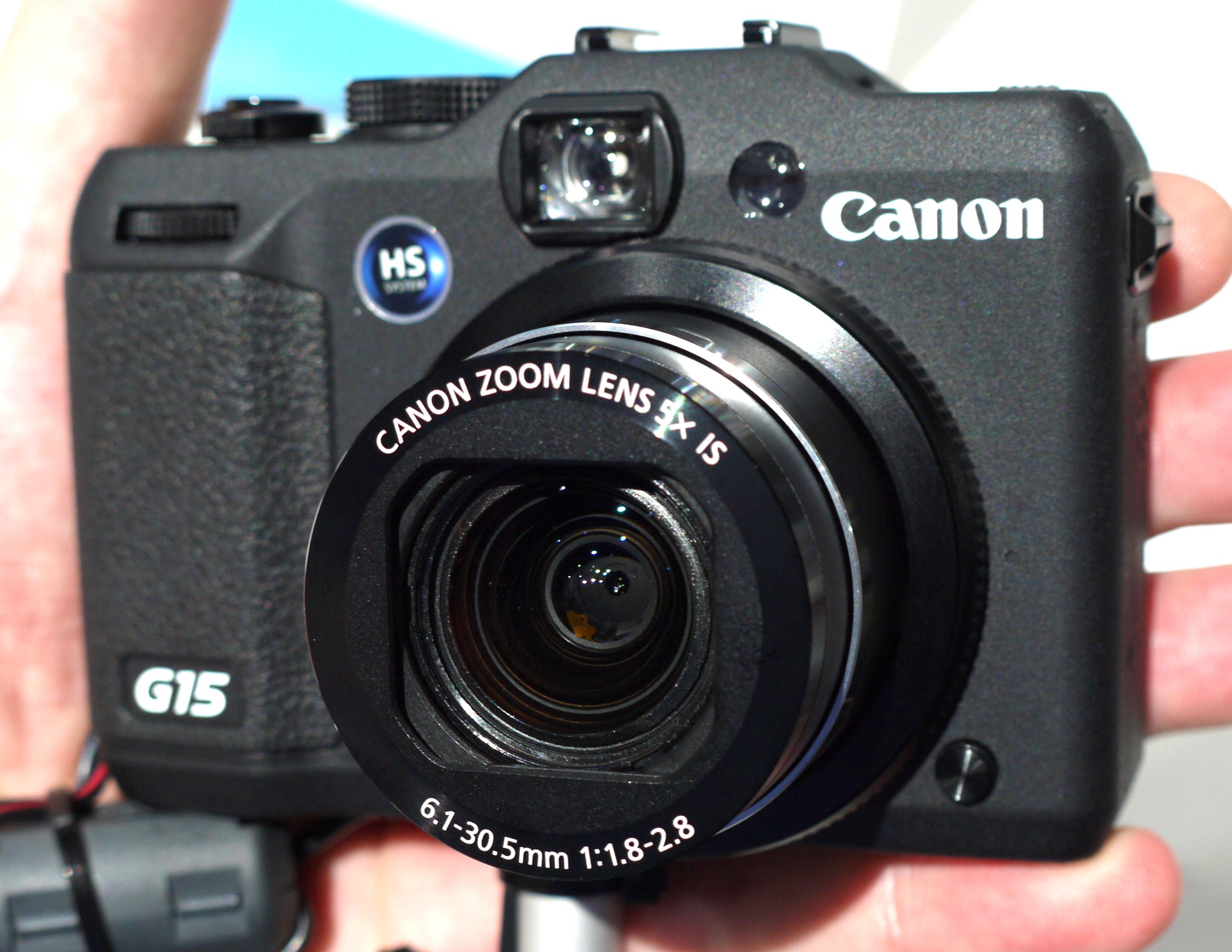 canon powershot g15 hands on at photokina 2012 rh ephotozine com Canon Camera Lenses Canon G15 vs Sony RX100