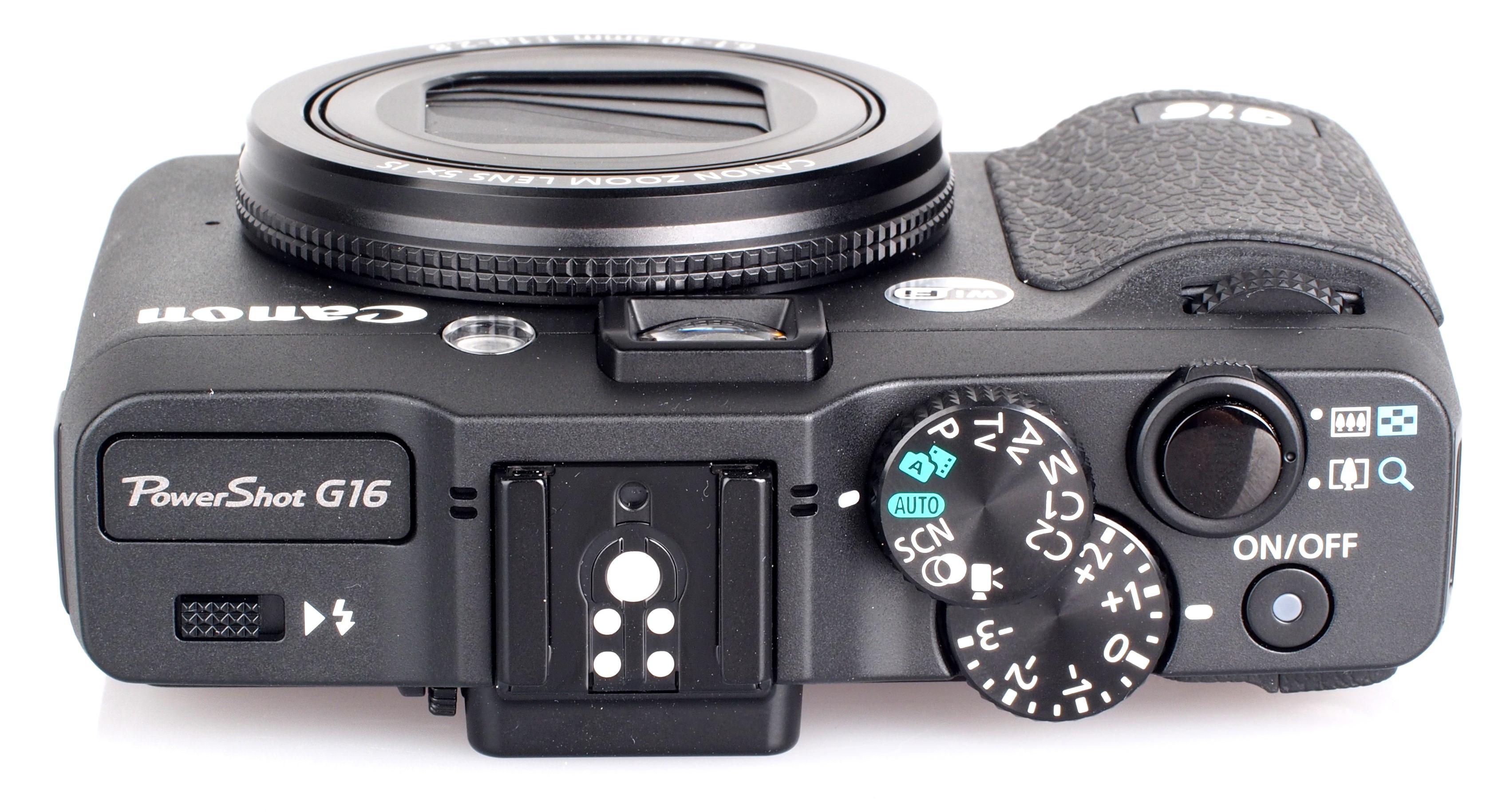 Canon powershot g16 handling