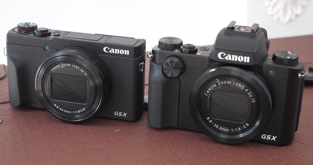 Canon Powershot G5X MarkII Vs MarkI Levels 1