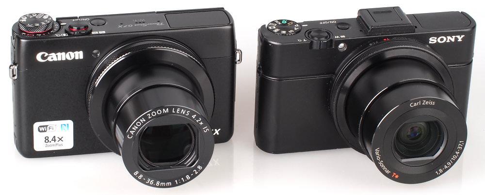 Canon Powershot G7X Sony Cyber Shot RX100 II (4)