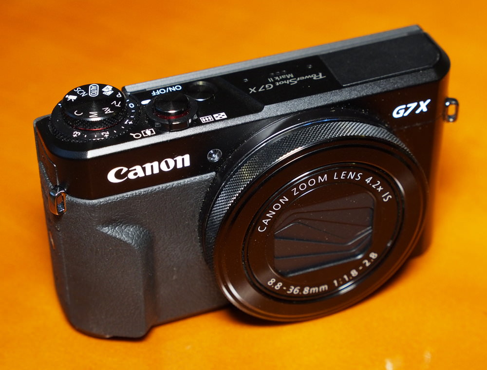Canon G7 X Mark II: Good Grip on Image Quality