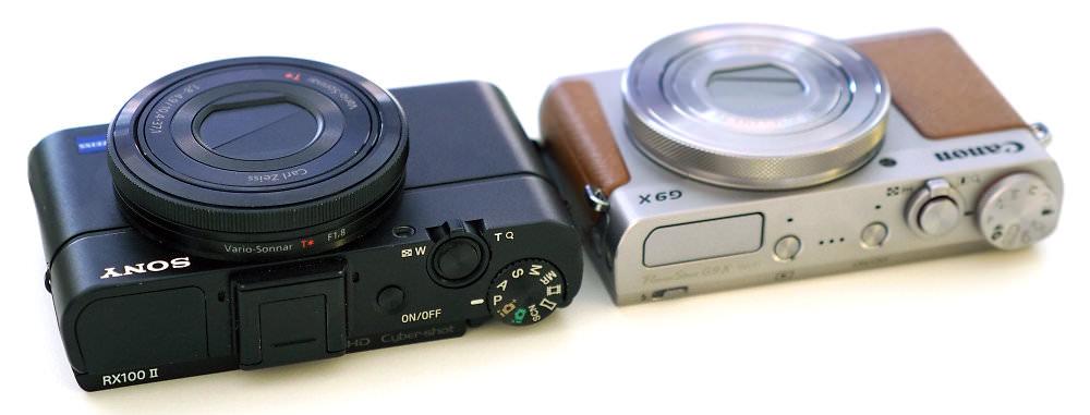 Sony Cyber Shot Rx100 Ii Canon Powershot G9x Silver