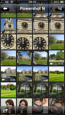 Canon Powershot N App Screenshot 1