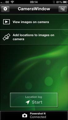 Canon Powershot N App Screenshot 2