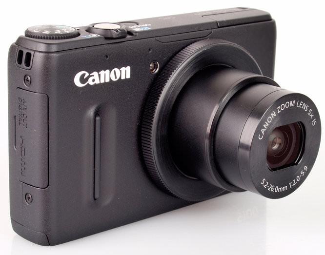 Canon PowerShot S100 Lens Extended