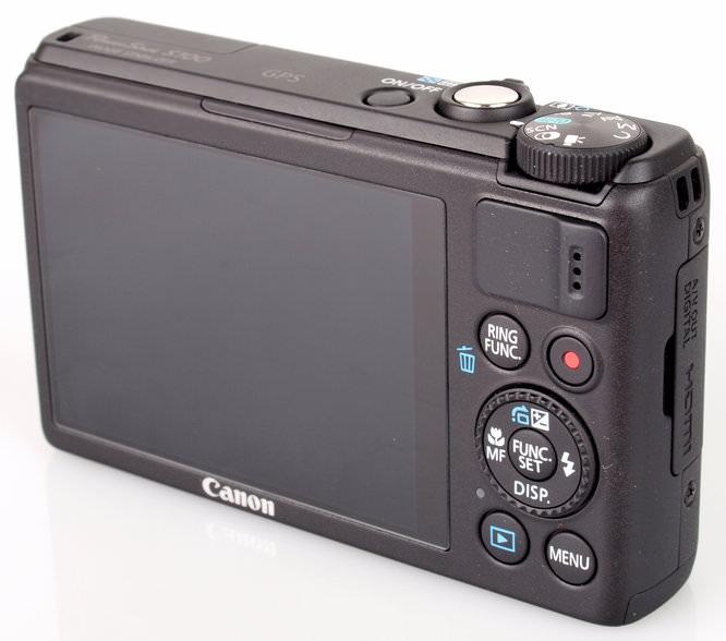 Canon PowerShot S100 Screen